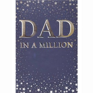 Dad in a Million - Father's Day Card