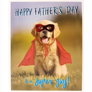 Hero Puppy - Father's Day Card
