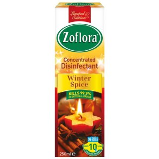 Zoflora Concentrated Disinfectant 250ml - Winter Spice
