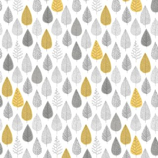 Into the Woods Ochre Wallpaper