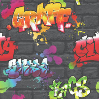 Black Graffiti Wallpaper