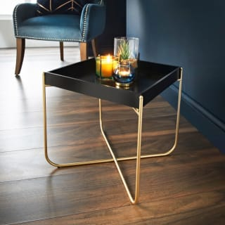 Melrose Tray Table - Black