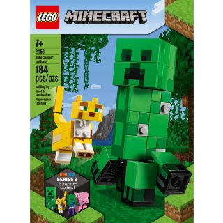 LEGO Minecraft BigFig Creeper & Ocelot