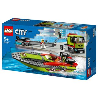 LEGO City Race Boat Transporter