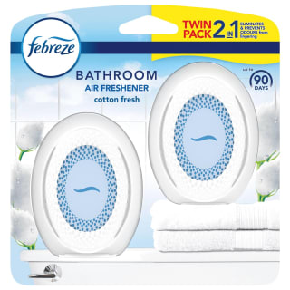 Febreze Bathroom Air Freshener 2pk - Cotton Fresh