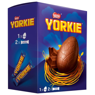 Yorkie Large Easter Egg 272g