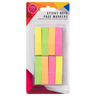 Sticky Note Page Markers