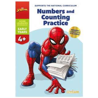 Disney Learning Book - Spider-Man