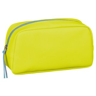 Jumbo Neon Pencil Case - Yellow