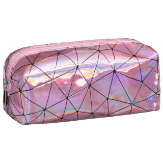 Holographic Pencil Case - Pink