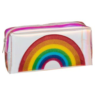 Iridescent Icon Pencil Case - Rainbow
