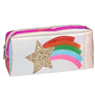 Iridescent Icon Pencil Case - Shooting Star