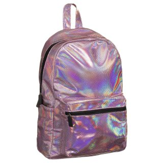 Holographic Backpack - Snake Skin
