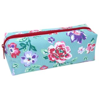 Floral Pencil Case - Blue