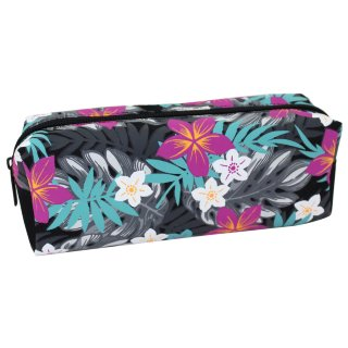 Floral Pencil Case - Tropical