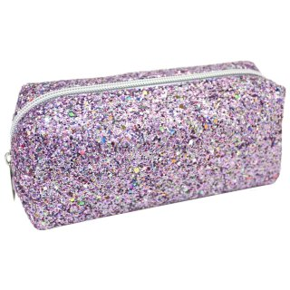 Glimmer Pencil Case - Pink
