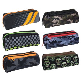 Sporty Pencil Case - Space Skulls
