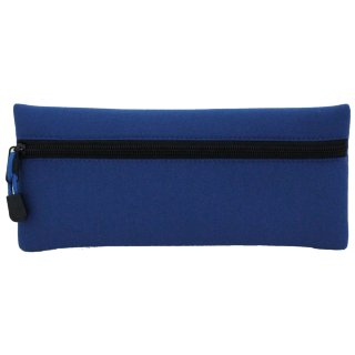 Neoprene Pencil Case - Blue