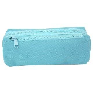 Double Zipped Pencil Case - Mint