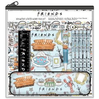 Friends Bumper Stationery Wallet 11pk