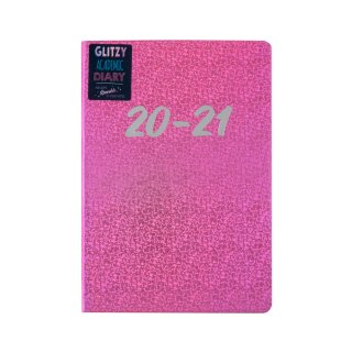 Glitzy Academic 2020/21 Diary - Pink