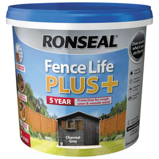 Ronseal Fence Life Plus+ 5L - Charcoal