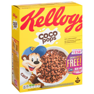 Kellogg's Coco Pops Cereal 375g