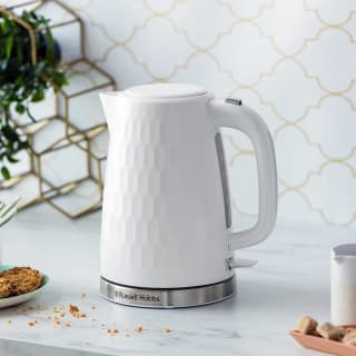 Russell Hobbs Honeycomb Kettle 1.7L - White