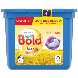 Bold All in 1 Pods 25pk - Summer Breeze