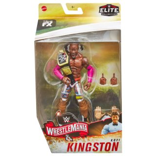 WWE WrestleMania Elite Collection Kofi Kingston Action Figure