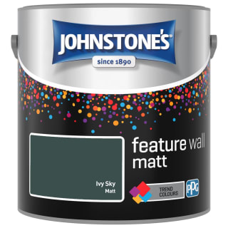 Johnstone's Feature Wall Matt Paint 2.5L - Ivy Sky