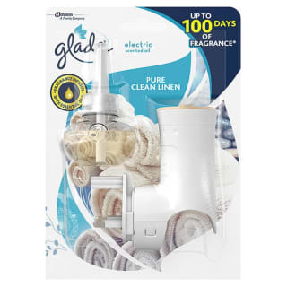 Glade Electric Scented Oil Plug-in Starter Kit - Pure Clean Linen