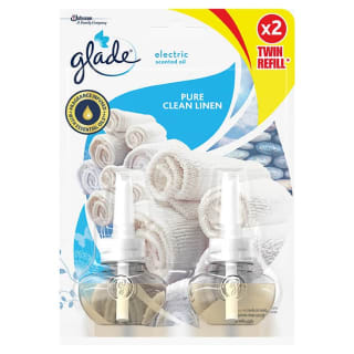 Glade Electric Scented Oil Refill 2pk - Pure Clean Linen