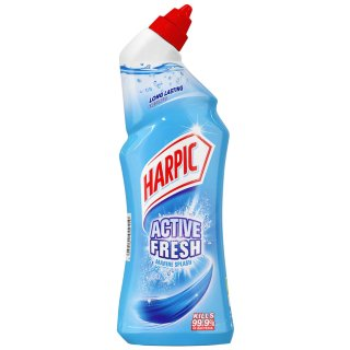 Harpic Active Fresh Toilet Cleaner 750ml - Marine Splash