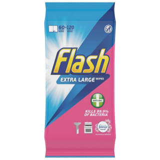 Flash Extra Large Wipes 60pk - Blossom & Breeze