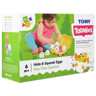 Toomies Hide & Squeak Eggs