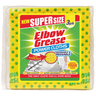 Elbow Grease Super Size Power Cloths 3pk