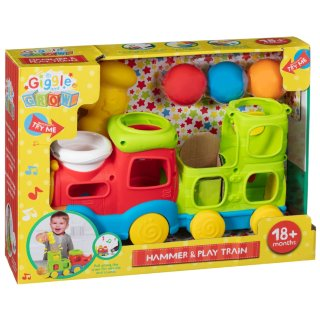 Giggle and Grow Hammer & Play Train