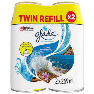 Glade Automatic Spray Refill 2pk - Ocean Adventure