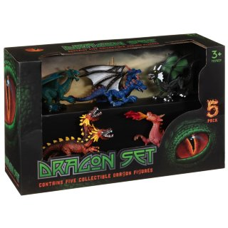 Dragon Toy Set 5pk