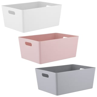 Large Studio Storage Box - Blush