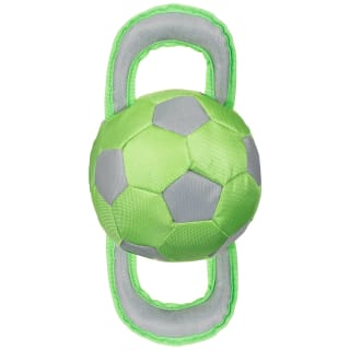 Football Tugger Dog Toy - Green