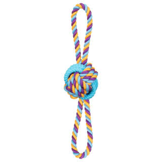 Dogfather Mighty Rope Tugger Dog Toy - Blue