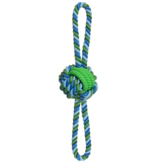 Dogfather Mighty Rope Tugger Dog Toy - Green