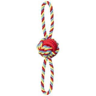Dogfather Mighty Rope Tugger Dog Toy - Red