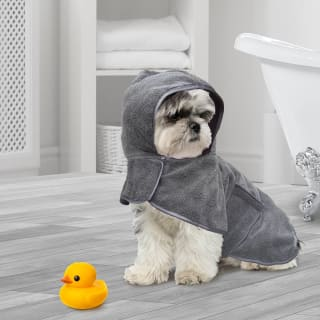 Pet Drying Robe - Grey