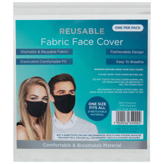 Reusable Fabric Face Cover