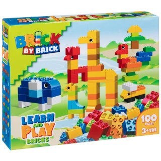 Brick by Brick Learn & Play 100pc
