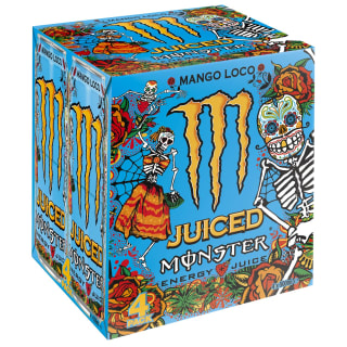 Monster Mango Loco Juiced Energy Drink 4 x 500ml