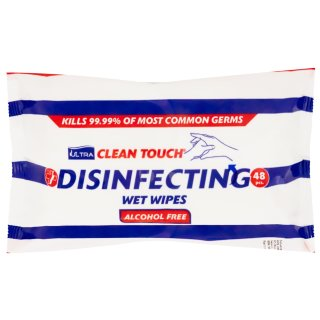 Hand Disinfectant Wipes 48pk
